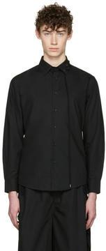 Craig Green Black Cotton Laced Shirt