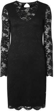 Vero Moda **Vero Moda Black Lace Short Bodycon Dress