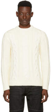 Belstaff Off-White Holmsdale Sweater