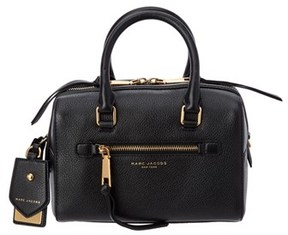 Marc Jacobs Recruit Small Leather Bauletto. - BLACK - STYLE