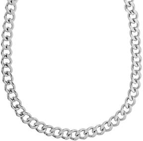 Lynx Stainless Steel Curb Chain Necklace - 20-in. - Men
