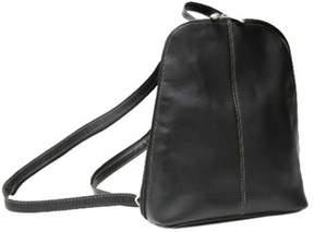 Royce Leather Women's Vaquetta Zip Around Sling Backpack.