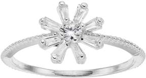Lauren Conrad Simulated Crystal Starburst Ring