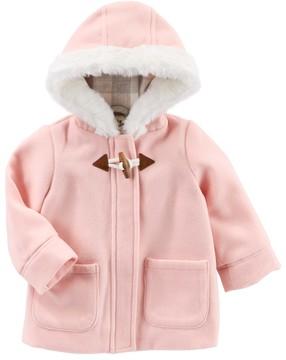 Osh Kosh Baby Girl Flannel-Lined Jacket