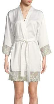 Flora Nikrooz Lace-Trimmed Robe
