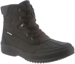 BearPaw Black Lucas Leather Boot - Men