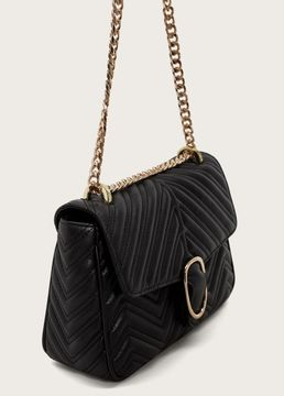 Violeta BY MANGO Quilted chain bag