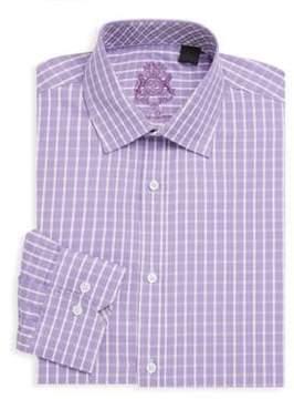 English Laundry Printed Cotton Dress Shirt