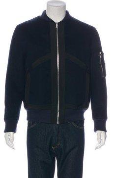 Public School Felted Bomber Jacket
