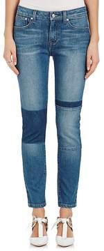 Derek Lam 10 Crosby Women's Devi Patch Skinny Jeans
