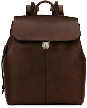 Bally Abbot Grained Calf Leather Backpack