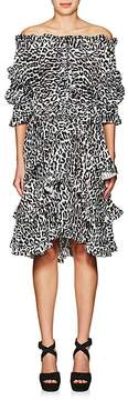 Faith Connexion Women's thedrop@barneys: Leopard-Print Off-The-Shoulder Dress