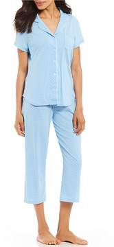 Karen Neuburger Dot-Print Capri Pajama Set