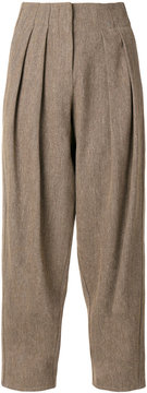 Dusan tapered trousers