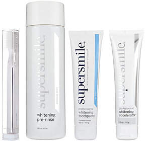 Supersmile Professional Teeth Whitening System with Pre-Rinse