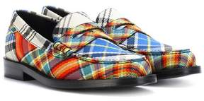 Burberry Bedmont check loafers
