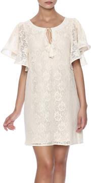 Ark & Co Gathered Rose Dress