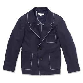Marie Chantal Boys Gabardine Jacket - Navy