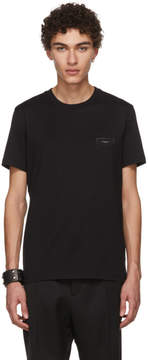 Givenchy Black Antigona Logo Patch T-Shirt