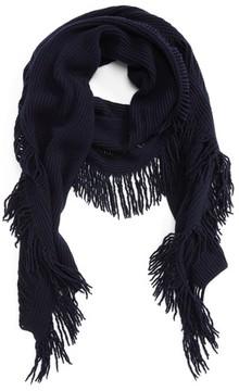 Stella McCartney Women's Fringe Cashmere & Wool Scarf