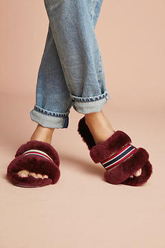 Emu Wrenlette Striped Slide Slippers