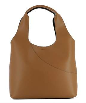 Hogan Women's Brown Leather Tote.