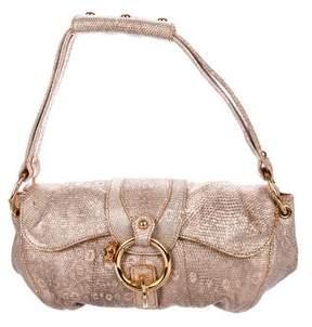 Tod's Lizard Handle Bag