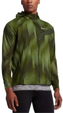 Nike Mens Impossibly Light Running Windbreaker Jacket Green L