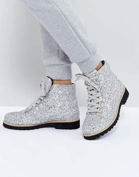 Asos ADRIANA Hiker Ankle Boots