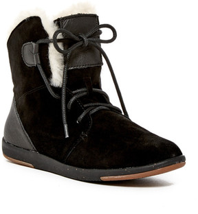 Emu Winton Genuine Sheepskin Fur Lace-Up Boot