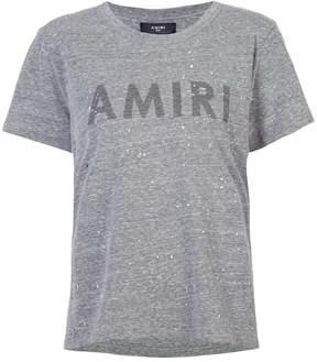 Amiri painted logo T-shirt