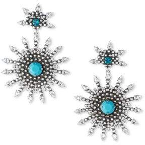 Dannijo Delano Crystal Drop Earrings