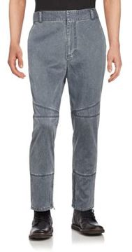 3.1 Phillip Lim Zipper Accented Faded Jeans