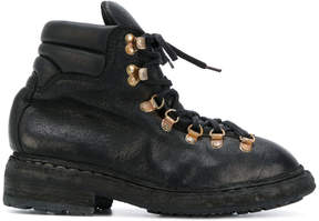 Guidi lace-up mountain boots