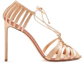 Francesco Russo Braided-strap leather sandals