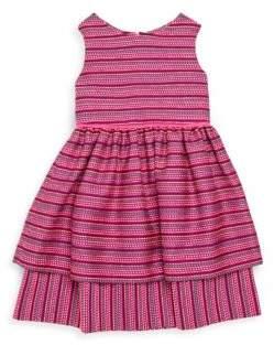 Oscar de la Renta Toddler's, Little Girl's& Girl's Tweed Dress