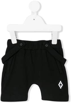 Marcelo Burlon County of Milan Kids detachable brace shorts