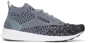 Reebok Classics Grey Zoku Runner Ultraknit Fade Sneakers