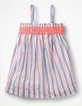 Boden Strappy Smocked Top