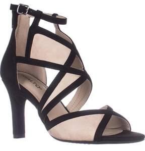 Rialto Ria Strappy Dress Heel Sandals, Black.