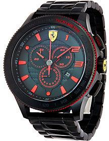 Ferrari Men's Black Stainless Steel Scuderia XX Watch