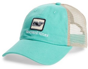 Vineyard Vines Men's Deconstructed Trucker Cap - Green