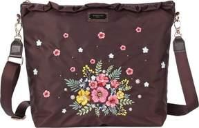 Nicole Lee Adira Embroidery Garden Cross Body Bag (Women's)