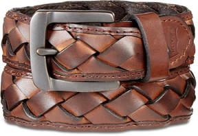 Levi's Men's Braided Leather Belt