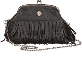 Black Fringe Shoulder Bag