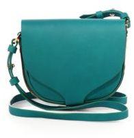 Sophie Hulme Barnsbury Mini Leather Saddle Bag