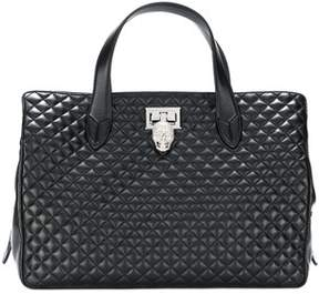 Philipp Plein Women's Black Leather Handbag.