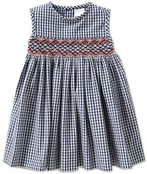 Edgehill Collection Baby Girls 3-9 Months Checked Dress