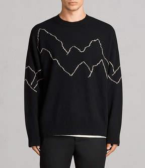 AllSaints Mount Crew Sweater