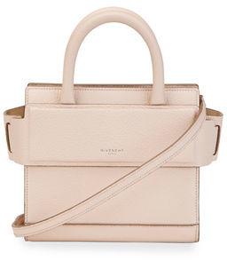 Givenchy Horizon Nano Grained Leather Satchel Bag